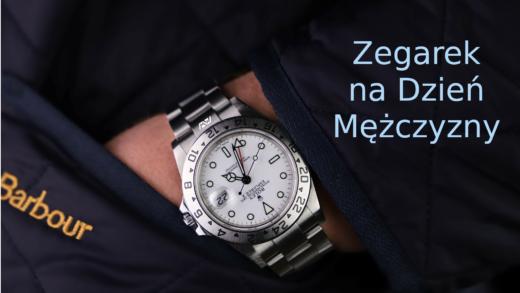 zegarek na Dzień Mężczyzny